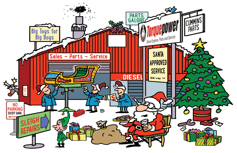 Christmas 2020 – Opening Hours & Torquepower Services