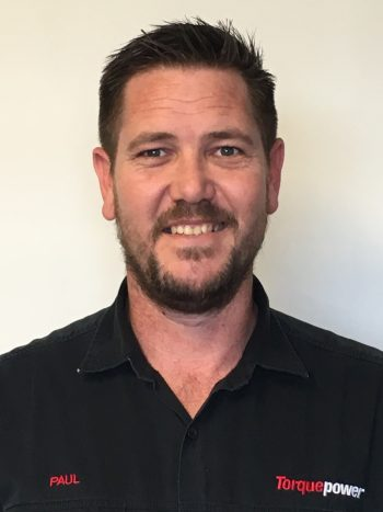 Torquepower Sales manager Paul Duce, celebrates fifth anniversary