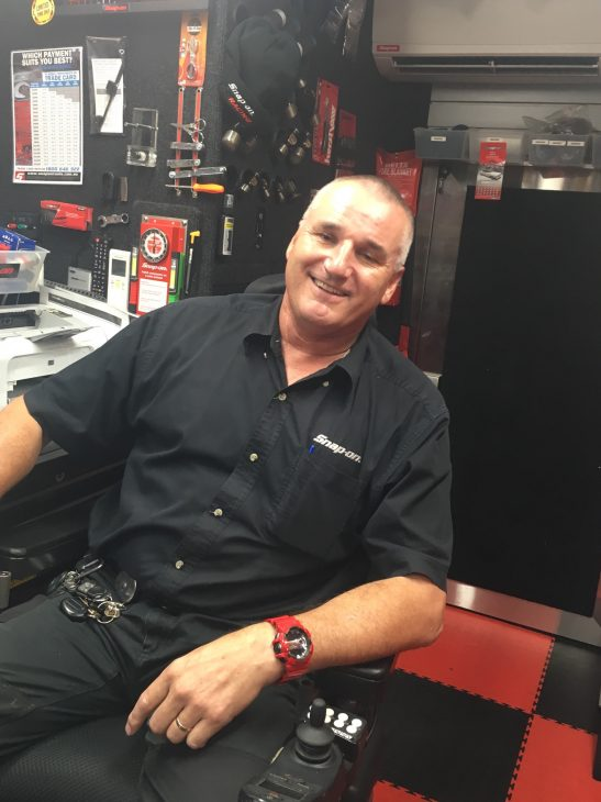 Steve Fell, Snap-on Franchisee |para athlete| quiet hero