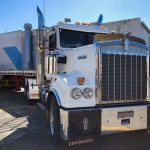 Casey and 1999 Kenworth