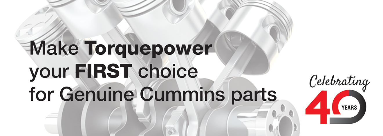 Make Torquepower your first choice for Cummins Parts