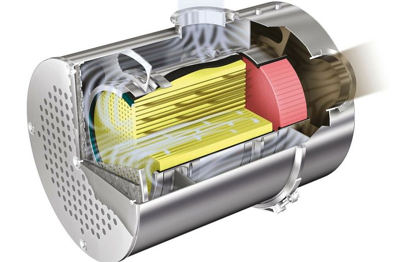 The Diesel Particulate Filter explained